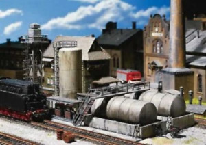 Faller 120157 HO Gauge Diesel Fuel Facility Kit