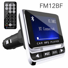 AUTO KIT MP3 Lettore Musicale & Caricabatterie USB Wireless Bluetooth Trasmettitore FM Radio