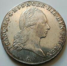 """RDR/ÖSTERREICH: Kronentaler 1795 """"C"""", FRANZ II., (Alb03L02), entf. Henkelspur."""