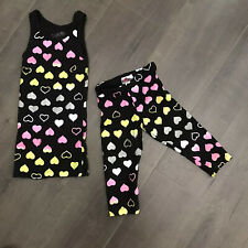 Girls flowers by zoe Matching Outfit Set Size 5 EUC