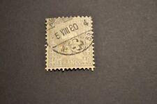 SUISSE 1862 40 centimes GRIS oblitéré cote +++