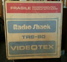 Rare Vintage Cdn TRS-80 VIDEOTEX system - TESTED and Boots! w/box/manuals