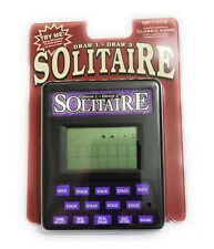 Solitaire Draw 1 or 3 Handheld Electronic Arcade Travel Game Kid Game Screen Toy
