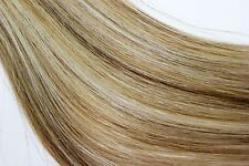 7PCs Clip In Hair Extensions 100g Remy Human Hair Weft Straight Piano Mix Color