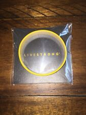1 L/XL ADULT LIVESTRONG Yellow Bracelet Wrist Bike Armstrong TDF BAND Wristband