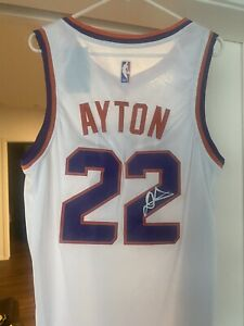Deandre Ayton Signed Phoenix Suns NBA Jersey Autographed
