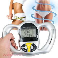 Portable Handheld Body Mass Index BMI Fat Analyzer Health Monitor Care Machine