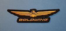 `GOLDWING` SEW OR IRON ON PATCH