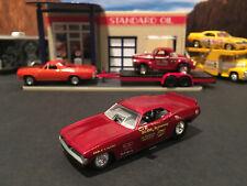1:64 Hot Wheels Limited Ed Big John Mazmanian 1972 Plymouth Barracuda Funny Car
