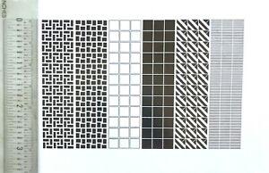 New Letterpress Type - A Square Deal -18 x 18 pt. Square Ornaments