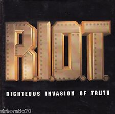 R.I.O.T. Righteous Invasion Of Truth CD Christian Gospel - God is Exalted