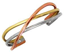 Sergio Lub Magnetic Cuff Bracelet – Copper Swirl Magnetic - Medium