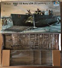 TRUMPETER 00347 - WWII US NAVY LCM (3) LANDING CRAFT - 1/35 PLASTIC KIT