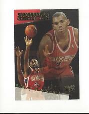 1995-96 Ultra Stackhouse's Scrapbook #S4 Jerry Stackhouse 76ers