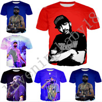 Newes tpopular nipsey hussle 3D Print Casual T-Shirt Women/Men Short Sleeve Tops