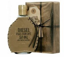 DIESEL FUEL FOR LIFE HOMME EDT 50ML PERFUME FOR HIM GIFT CLEARANCE BARGAIN (A)