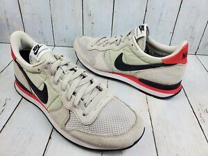 Nike Internationalist Running Shoes Neutral Grey/Black/Infrared/White Size 10.5