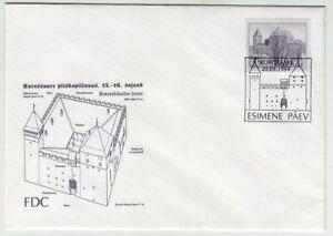 ESTONIA: KURESSAARE CASTLE 1994 FDC