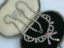 1950s Costume Rhinestone Necklaces