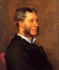 Dream-art Oil painting george frederick watts - matthew arnold male portrait art