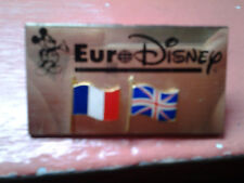 badge cast member euro disney langue disneyland paris