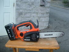 BRAND NEW MAKITA  DOLMAR LITHIUM ION 36 VOLT CHAINSAWS W/BATTERY & CHARGER