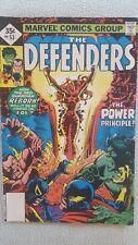 marvel comics defenders issue# 53