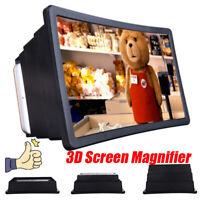 Portable 3D Video Enlarge Smartphone Screen Magnifier Amplifier Universal UK JC