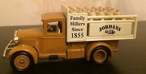LLEDO PROMOTIONAL MODEL JORDANS FAMILY MILLERS SINCE 1855 no box