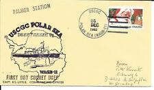 PALMER STATION  25 12 1983 USCGC POLAR SEA DEEP FREEZE 84 WAGB-11 FDC