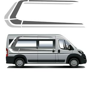 (No.891) Camper Van Graphics Motorhome Decals Caravan RV Stickers Universal Kits