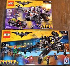 NEW LOT OF 2 SETS LEGO THE BATMAN MOVIE SCUTTLER 70908 & 70915 TWO-FACE DOUBLE