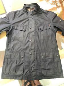 Barbour International Light Jacket, Navy, Mens UK L , Waterproof and Breathable