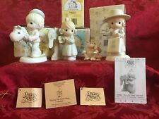 Precious Moments Lot Of (4) 521043, C0001, E-0005, & 521205 All New In Box