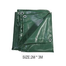 2*3m/3*4m PVC Tarpaulin Tarp 650g/m² Heavy Duty Waterproof Canvas Camping Cover
