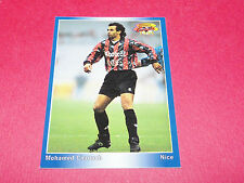 PANINI FOOTBALL CARD 1994-1995 MOHAMED CHAOUCH OGC NICE OGCN NISSA RAY AIGLONS