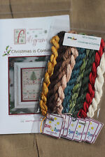 Filigram - Christmas is Coming - Cross Stitch chart with silk thread, New