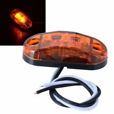 Amber 2-LED Side Marker Light Car Trailer Truck Caravan 12V Clearance Lamp IP65
