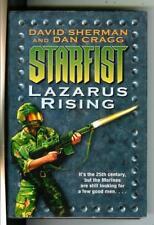 Starfist: Lazarus Rising, Del Rey military sci-fi Marines hardcover in Dj