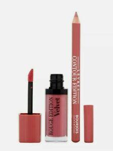 Bourjois Ooh La Velvet Lip Kit 07 Nude-ist 8.8g Lipstick and Liner