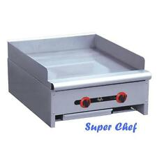 """New! Griddle Gas 24"""" Heavy Duty 60,000 BTU Stainless Steel LP or NAT GAS"""