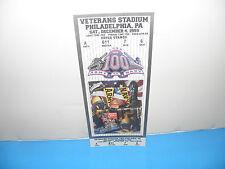NCAA Army vs Navy 100th Meeting 1999 Full Mint Ticket