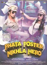 PHATA POSTER NIKLA HERO (2013) SHAHID KAPUR, ILEANA - BOLLYWOOD DVD