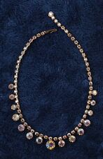 Vintage Weiss  Crystal Necklace  Royalty Collection