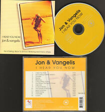 JON & and VANGELIS 14 track NEW CD Best of Compilation I HEAR YOU NOW * YES