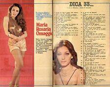 MA89-Clipping---1981 Maria Rosaria Omaggio ... dica 33...