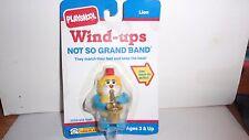 1990 Playskool Wind-Ups Lion ~ No So Grand Band~ Moc~ Free Shipping