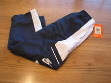 Boy's Youth Nike active pants 4 R navy mesh lined $32.0
