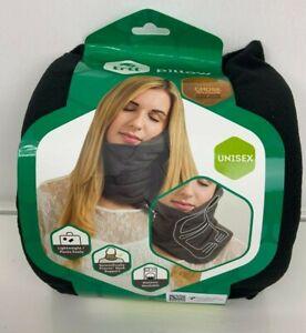 trtl Soft Neck Support Travel Pillow Black New