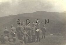 WWII Italian Army Large RPPC- Regia Esercito- Officer Staff Ride- 1918-1936